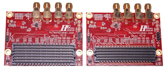 FMC+ Loopback & Clock Generator Module
