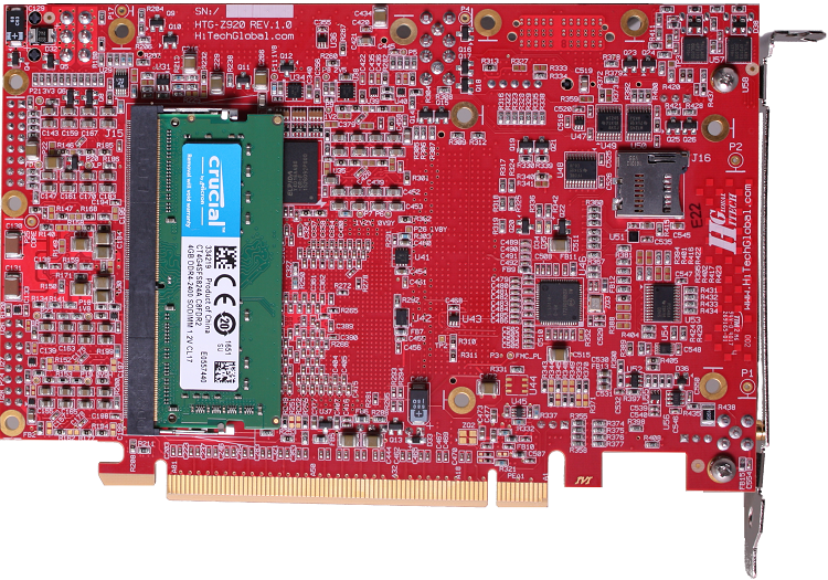 Xilinx ZYNQ MPSOC UltraScale+ Board