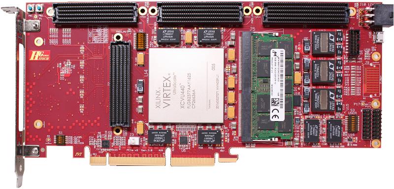 Xilinx Virtex UltraScale VU440 PCIE SOC Board