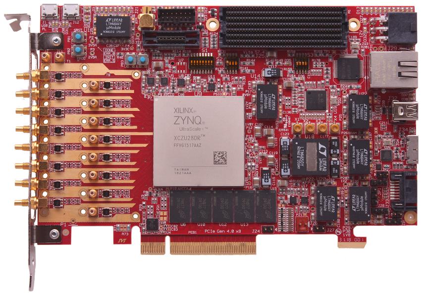 Xilinx ZYNQ UltraScale+ RFSoC Development Board