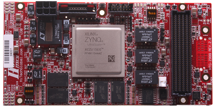Xilinx Zynq UltraScale+ FMC board